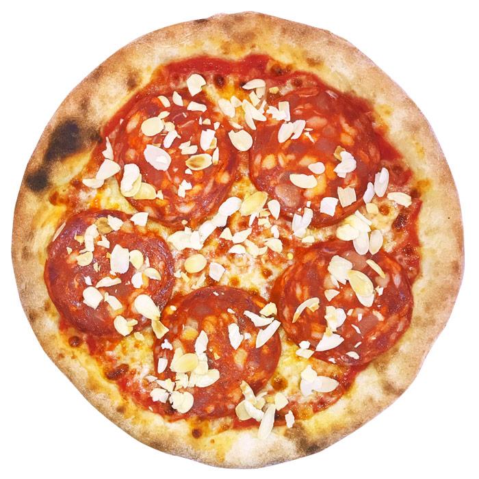 Minipizza Chorizo