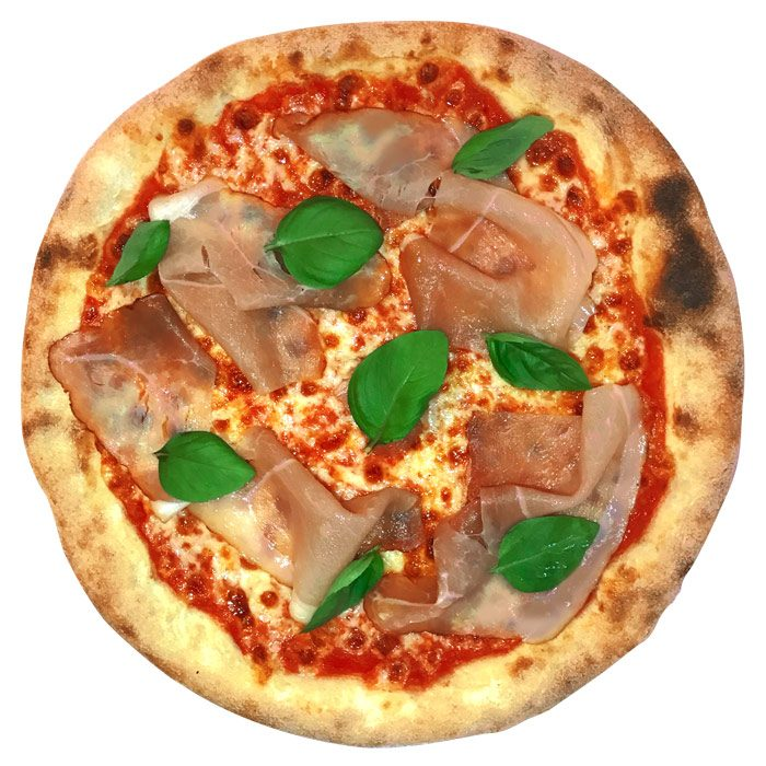 Minipizza Crudo