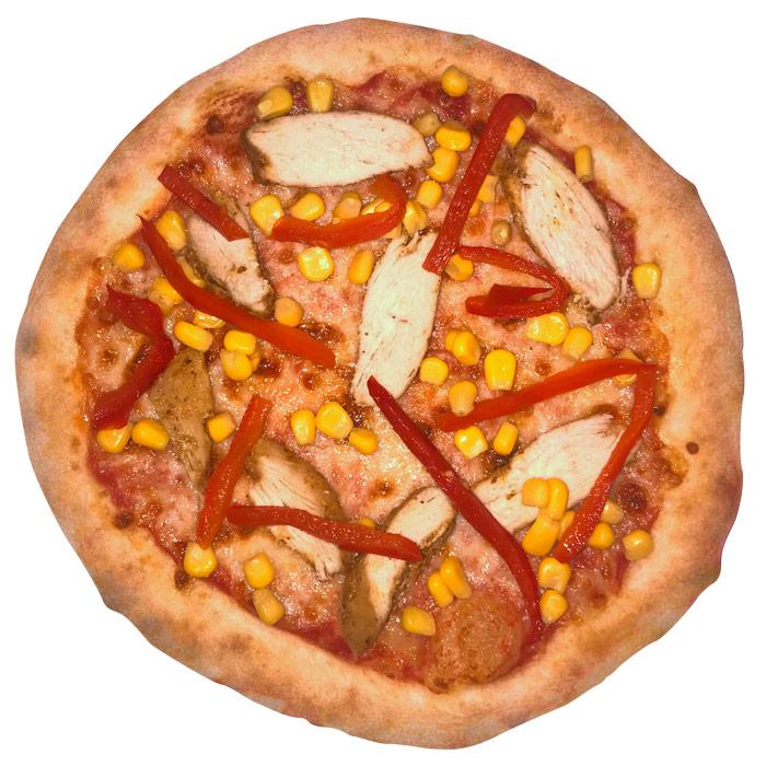 Minipizza Pollo